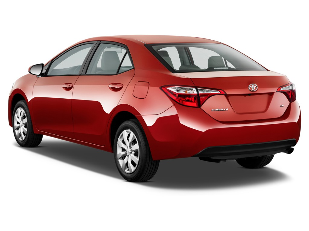 Image: 2014 Toyota Corolla 4-door Sedan CVT LE (Natl ...