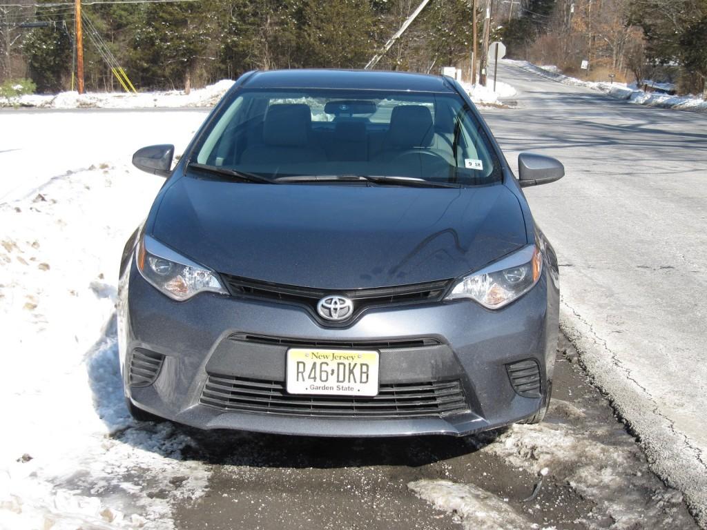2014 Toyota Corolla LE Eco, Catskill Mountains, NY, Feb 2014