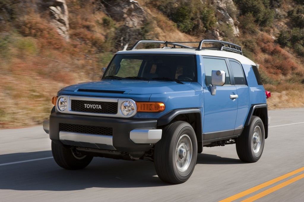 New And Used Toyota FJ Cruiser: Prices, Photos, Reviews, Specs   The Car  Connection