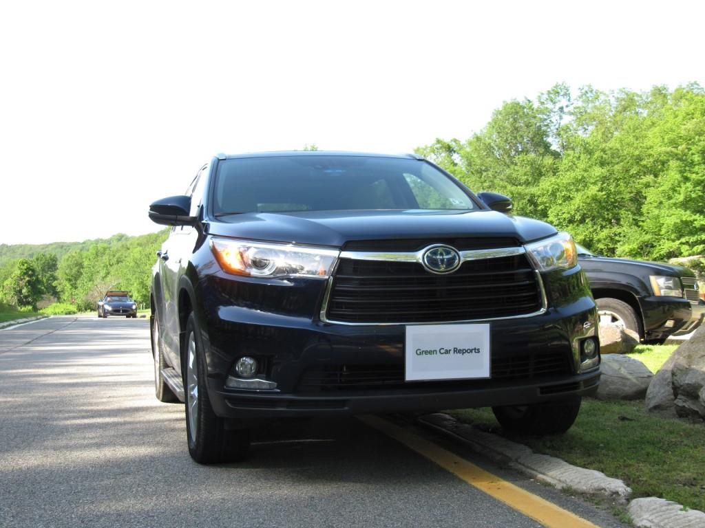 2014 Toyota Highlander Hybrid, Palisades Interstate Park, New York, June 2014