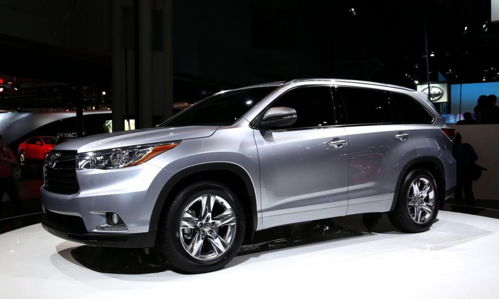 2014 Toyota Highlander Live Photos, 2013 New York Auto Show