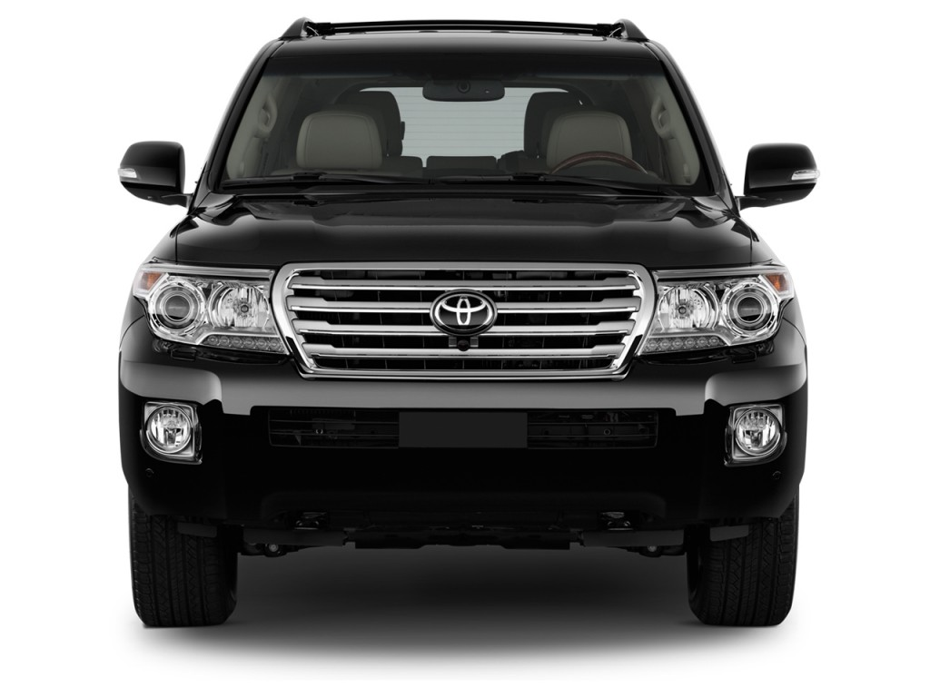 Image: 2014 Toyota Land Cruiser 4-door 4WD (Natl) Front Exterior View, size: 1024 x 768, type