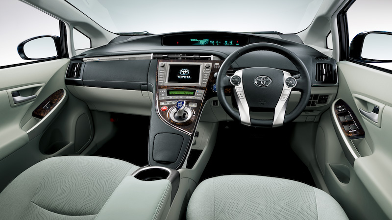 Superior 2014 Toyota Prius Plug In Hybrid Interior (Japanese Version).