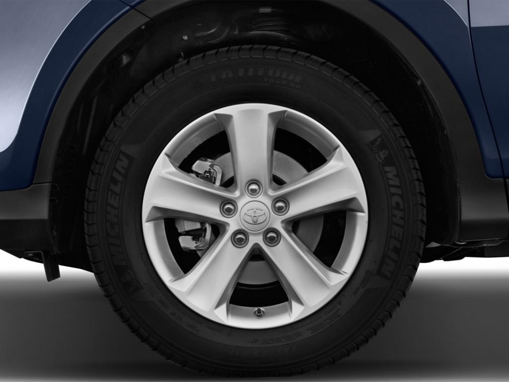 Used Hyundai Veloster >> Image: 2014 Toyota RAV4 FWD 4-door XLE (Natl) Wheel Cap ...