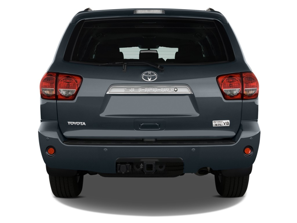 Image: 2014 Toyota Sequoia RWD 5.7L Limited (GS) Rear ...