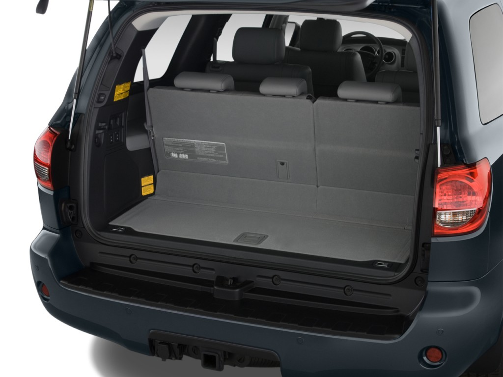 Image: 2014 Toyota Sequoia RWD 5.7L Limited (GS) Trunk ...