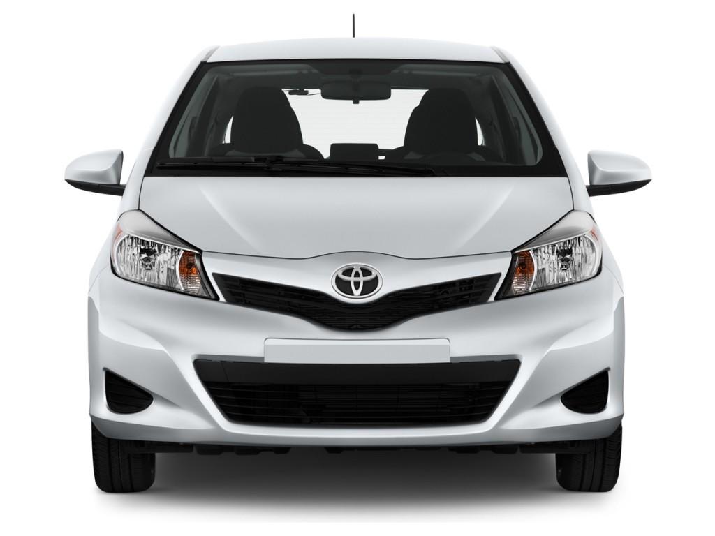 2014 Toyota Yaris 5dr Liftback Auto LE (TMC/CBU Plant) (GS) Front Exterior View