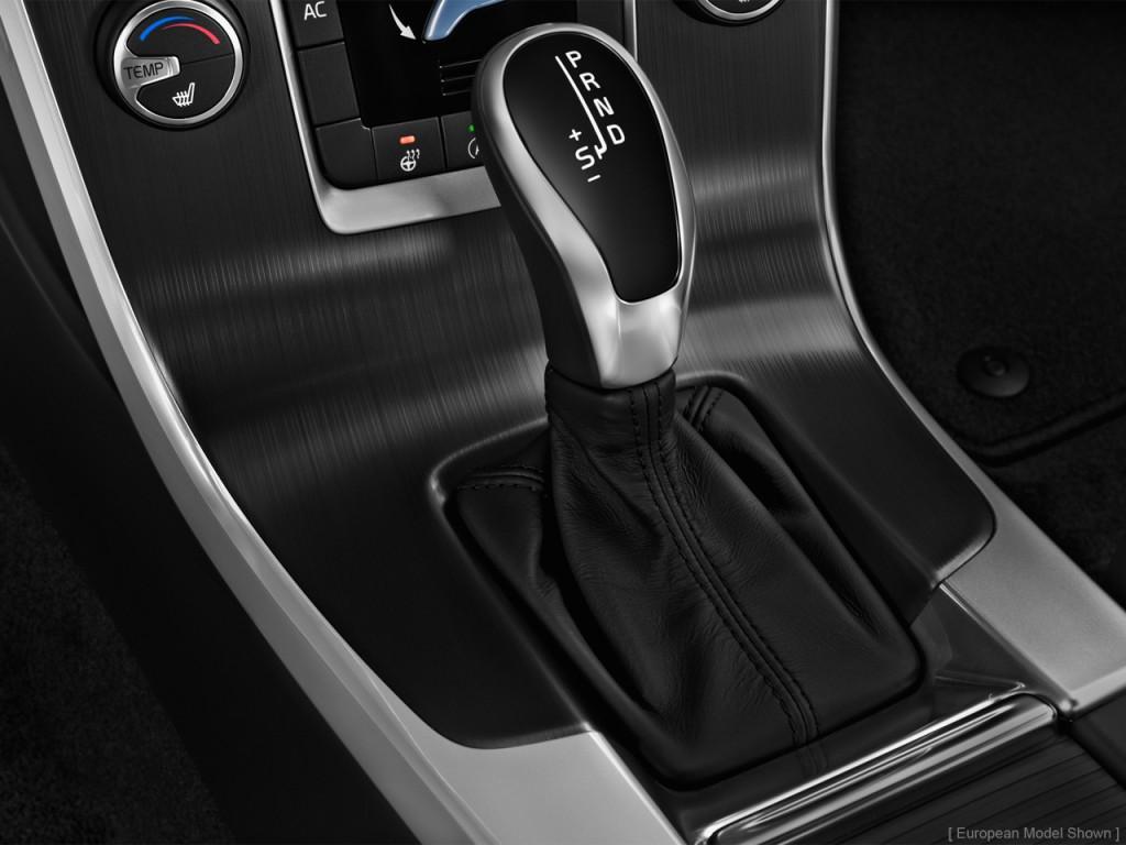 Image: 2014 Volvo S60 4-door Sedan T5 FWD Gear Shift, size ...