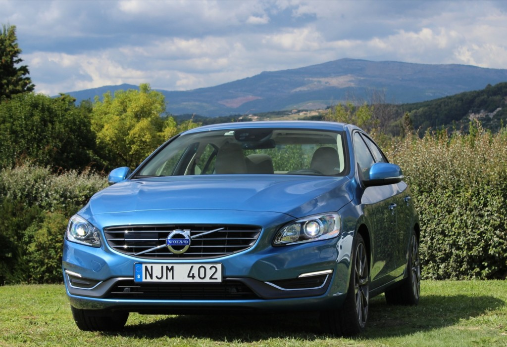 Image: 2014 Volvo S60 T6, with 2015 Drive-E powertrain ...