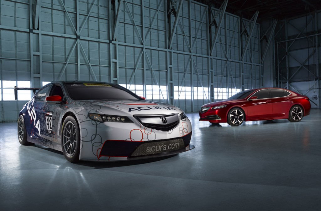 Acura TLX GT Race Car Set For Pirelli World Challenge on