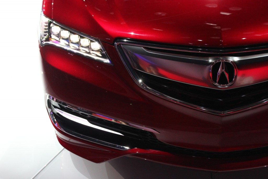 Image: 2015 Acura TLX (prototype) - 2014 Detroit Auto Show ...