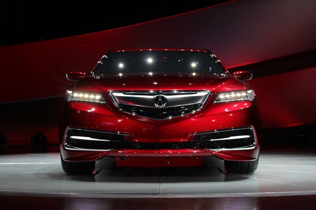 image 2015 acura tlx prototype 2014 detroit auto show live photos size 1024 x 682 type. Black Bedroom Furniture Sets. Home Design Ideas