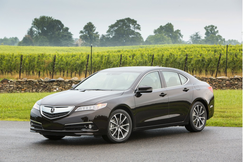 2015 Acura TLX recalled to fix transmission glitch
