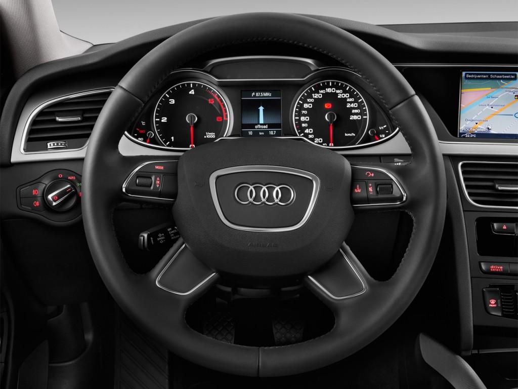 image 2015 audi a4 4 door sedan cvt fronttrak 2 0t premium steering wheel size 1024 x 768. Black Bedroom Furniture Sets. Home Design Ideas