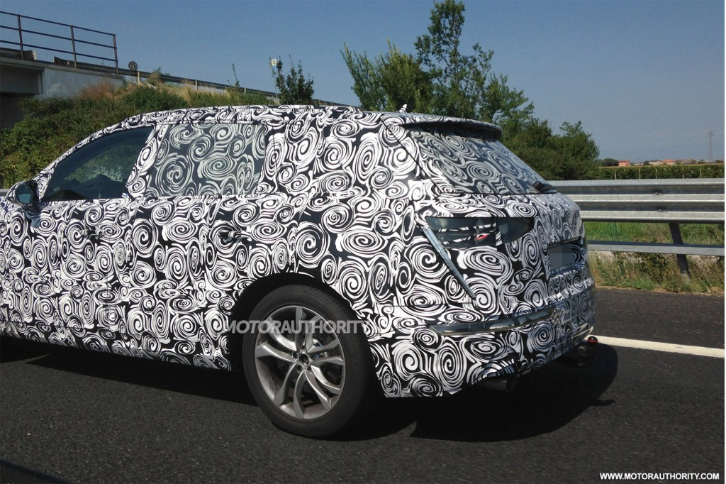 2016 Audi Q7 spy shots