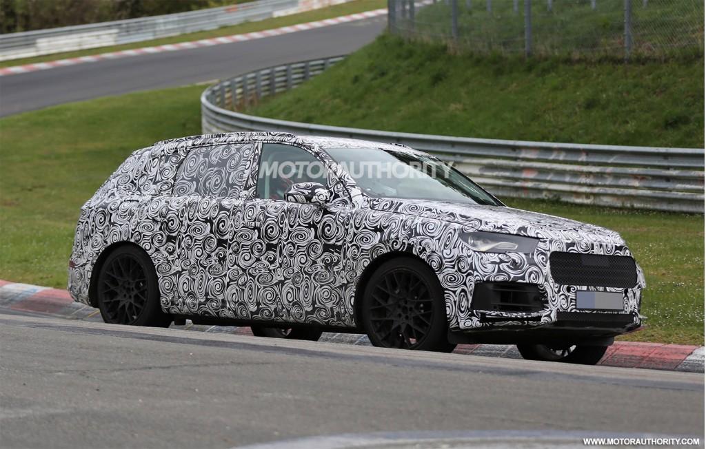 2016 Audi Q7 spy shots