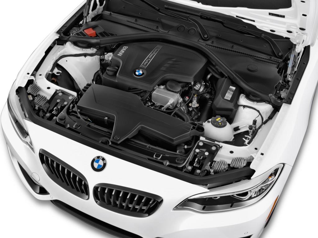 Image: 2015 BMW 2-Series 2-door Coupe 228i RWD Engine ...