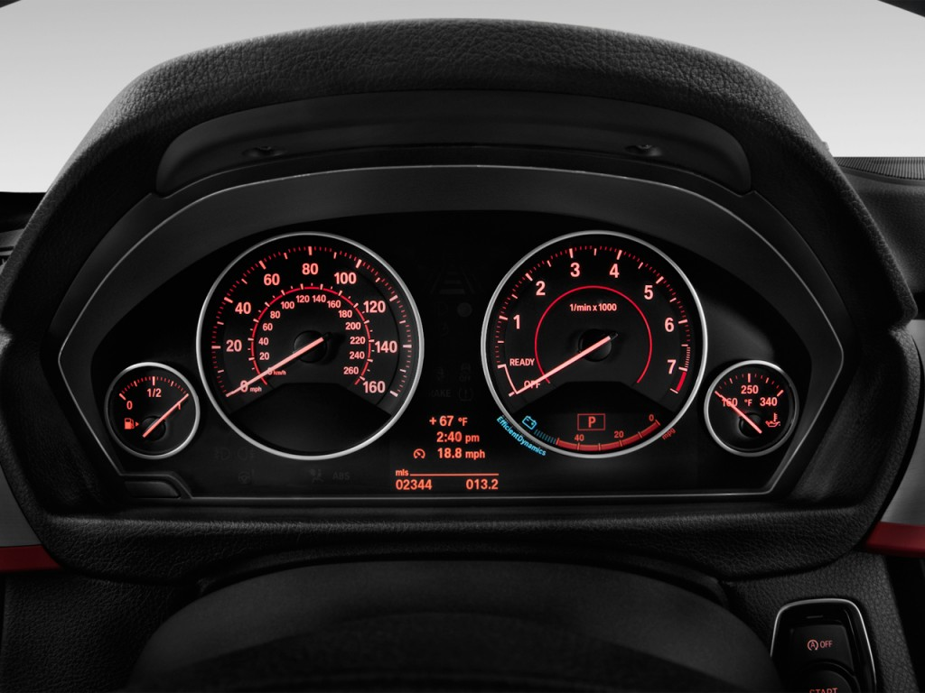Image 2015 Bmw 3 Series 4 Door Sedan 335i Rwd Instrument Cluster Size 1024 X 768 Type Gif