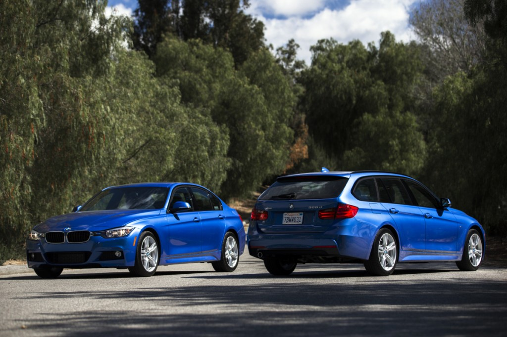 2015 BMW 328d sedan and Sports Wagon