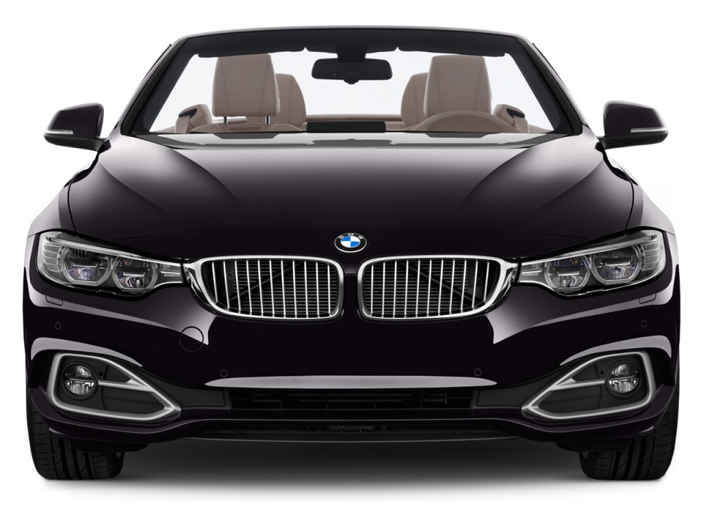 Image: 2015 BMW 4-Series 2-door Convertible 428i RWD Front ...