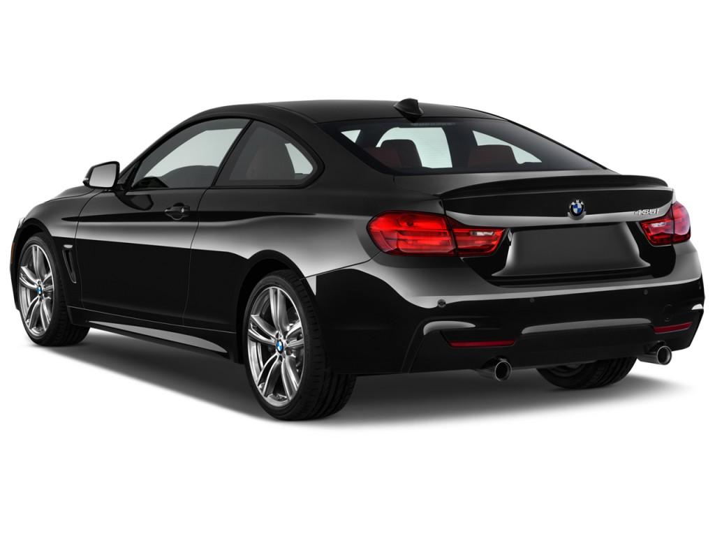 Image: 2015 BMW 4-Series 2-door Coupe 435i RWD Angular Rear Exterior
