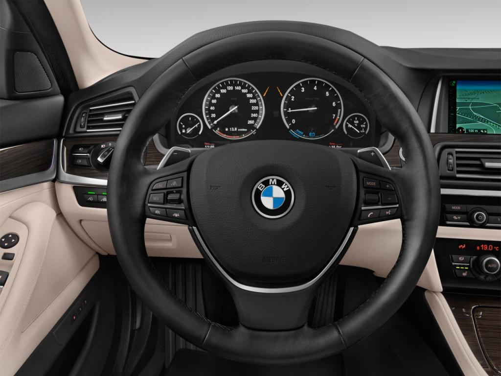 image 2015 bmw 5 series 4 door sedan activehybrid 5 rwd steering wheel size 1024 x 768 type. Black Bedroom Furniture Sets. Home Design Ideas