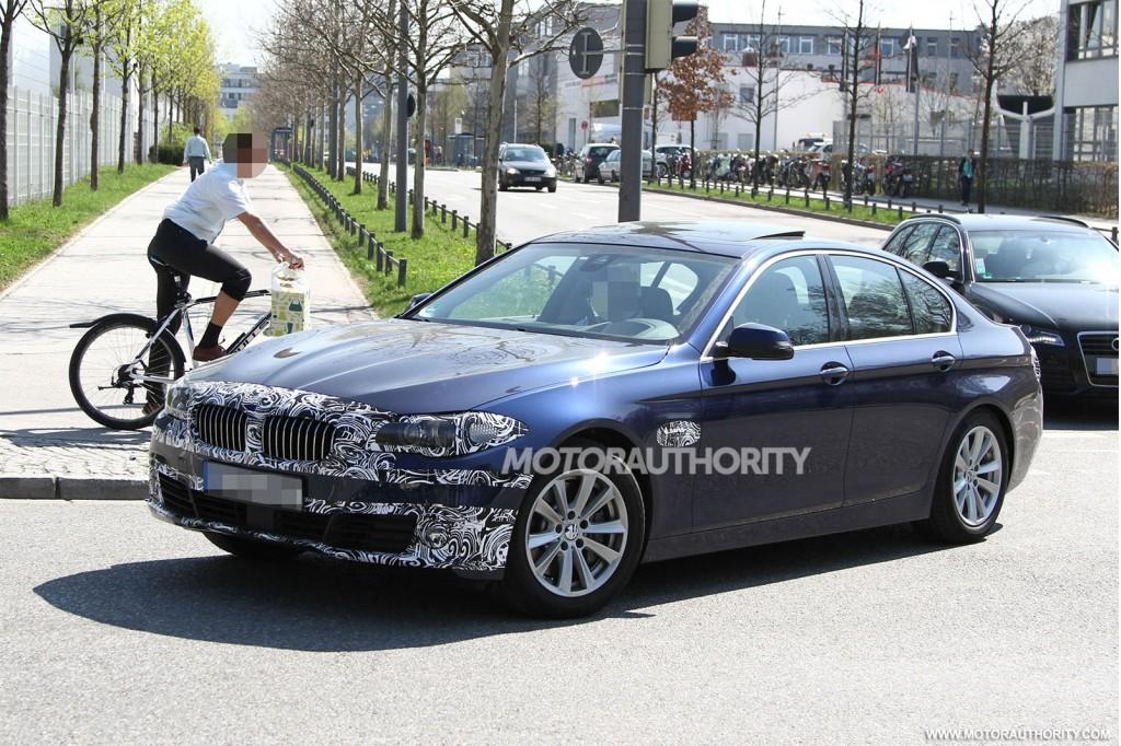 2014 BMW 5Series Spy Shots