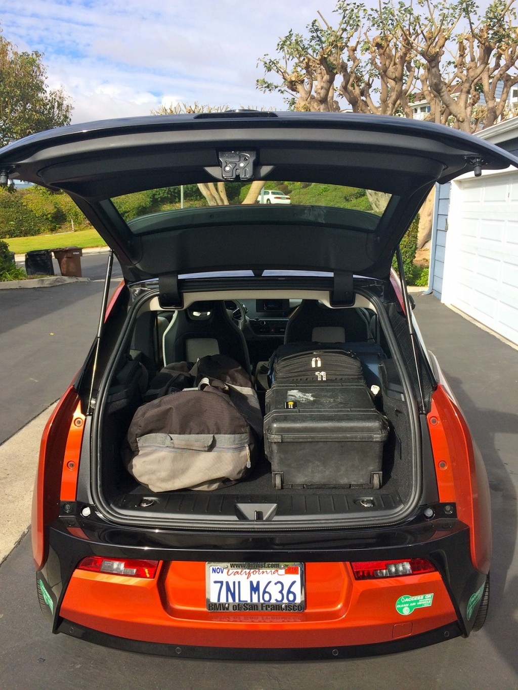 Image 2015 Bmw I3 Rex Cargo Capacity Photo Jeff