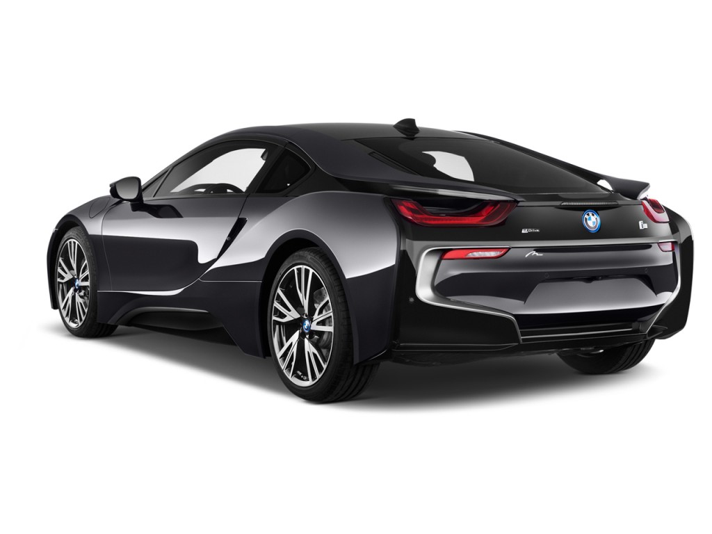 I8 Exterior: Image: 2015 BMW I8 2-door Coupe Angular Rear Exterior View