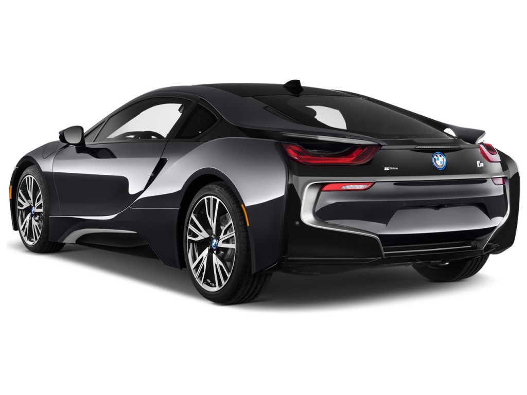 Image 2015 Bmw I8 2 Door Coupe Angular Rear Exterior View