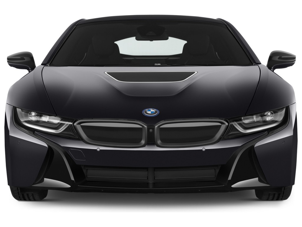 I8 Exterior: Image: 2015 BMW I8 2-door Coupe Front Exterior View, Size
