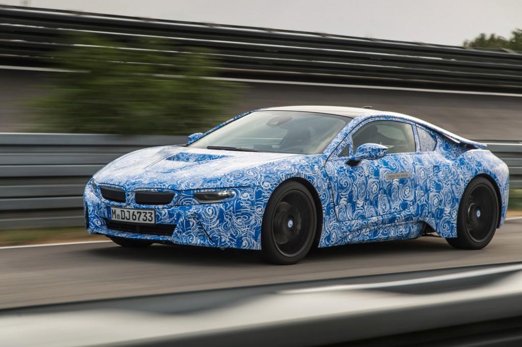 2015 BMW i8 prototype
