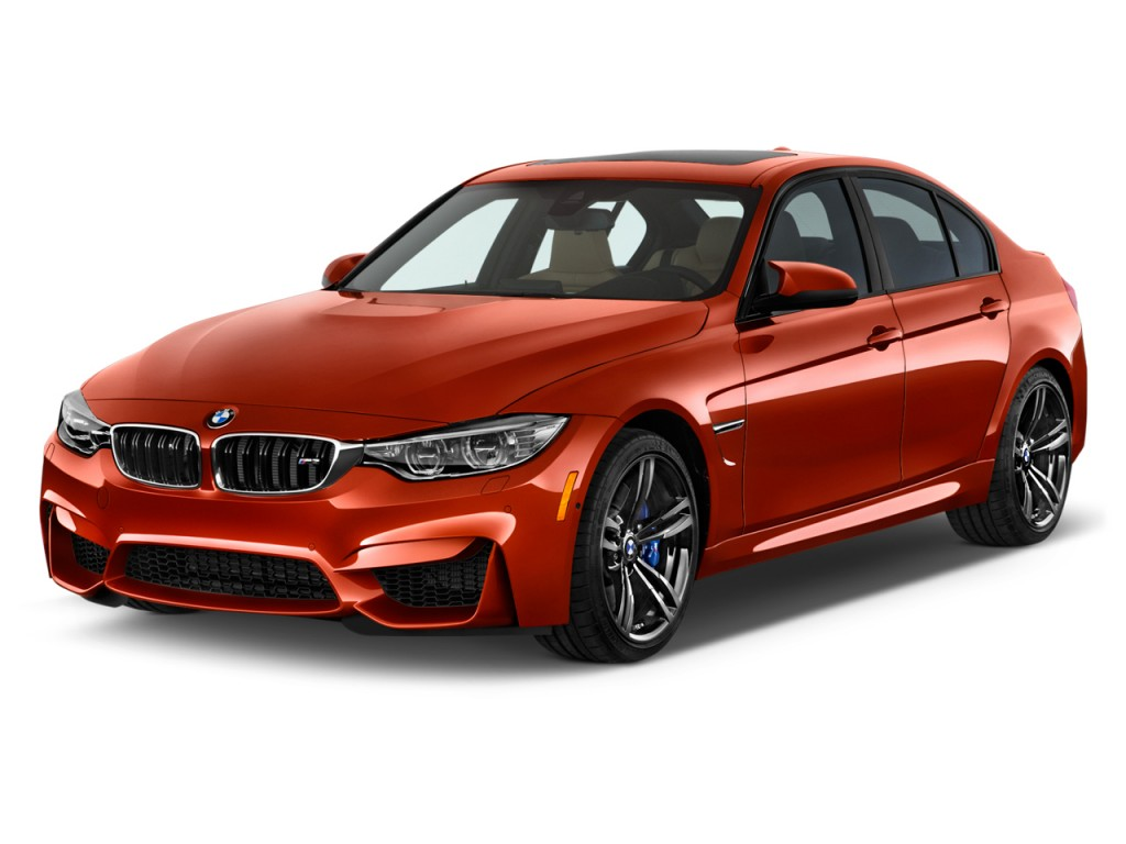 Image 2015 Bmw M3 4 Door Sedan Angular Front Exterior