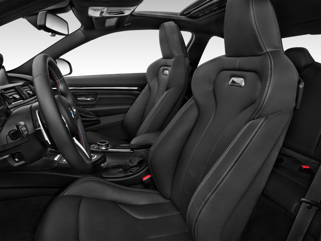 Image: 2015 BMW M4 2-door Coupe Front Seats, size: 1024 x ...