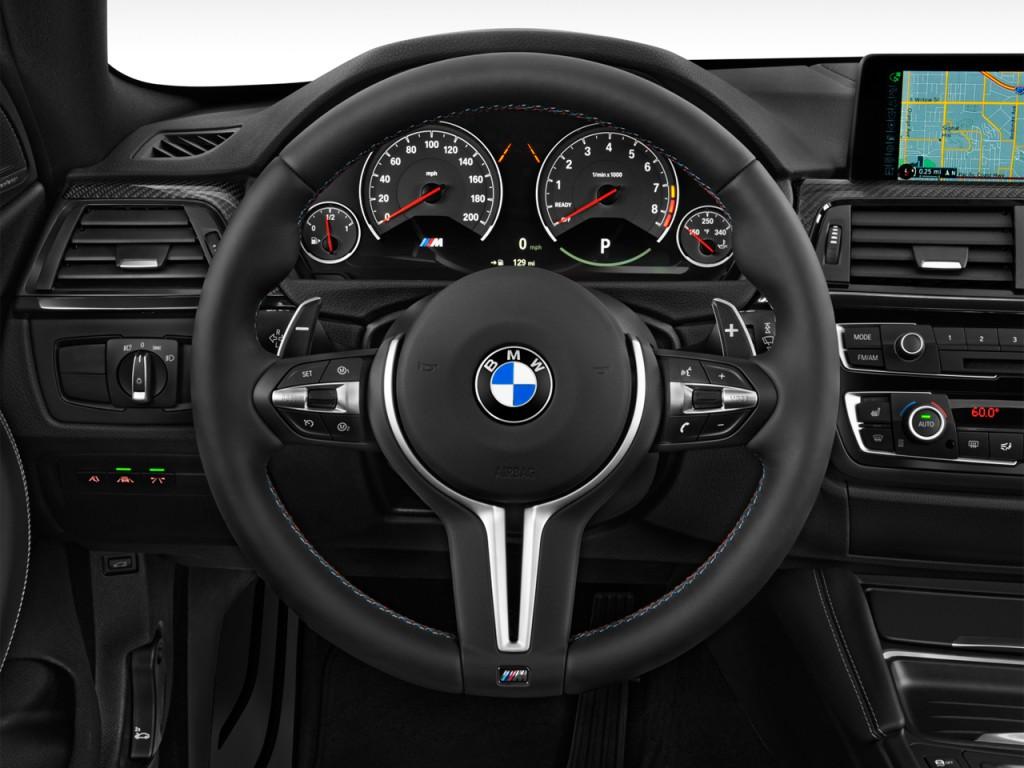 Image 2015 Bmw M4 2 Door Coupe Steering Wheel Size 1024