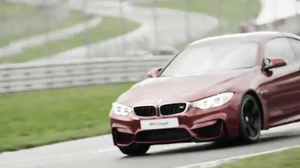 2015 BMW M4 Unleashed On Brands Hatch: Video