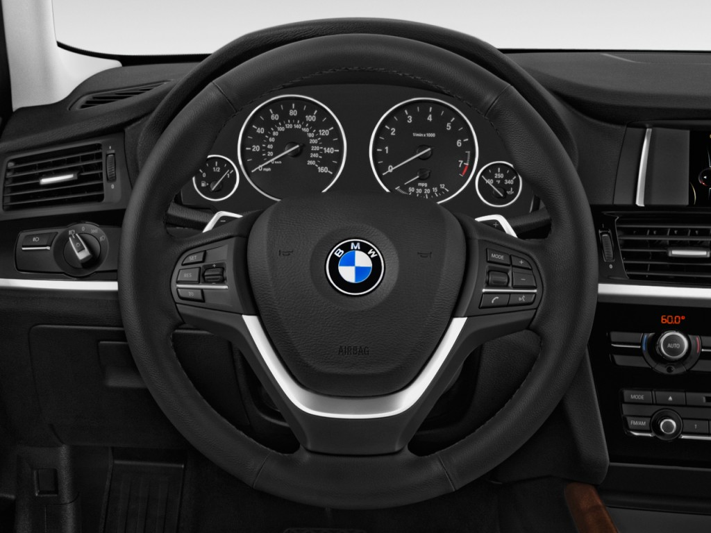 image 2015 bmw x4 awd 4 door xdrive28i steering wheel. Black Bedroom Furniture Sets. Home Design Ideas