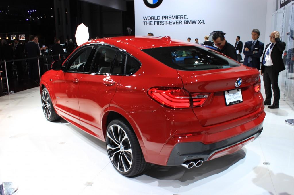 2015 BMW X4, 2014 New York Auto Show