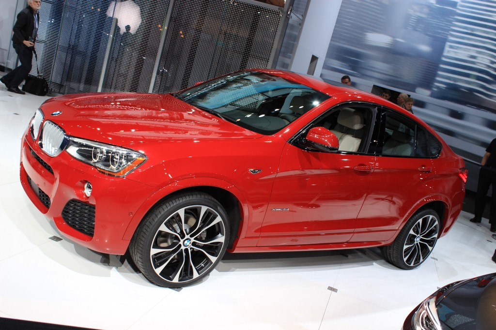 2015 BMW X4 Video New York Auto Show