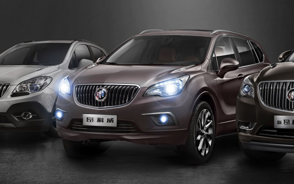 Image: 2015 Buick Envision (Chinese spec), size: 1024 x 640, type: gif, posted on: July 23, 2014 ...