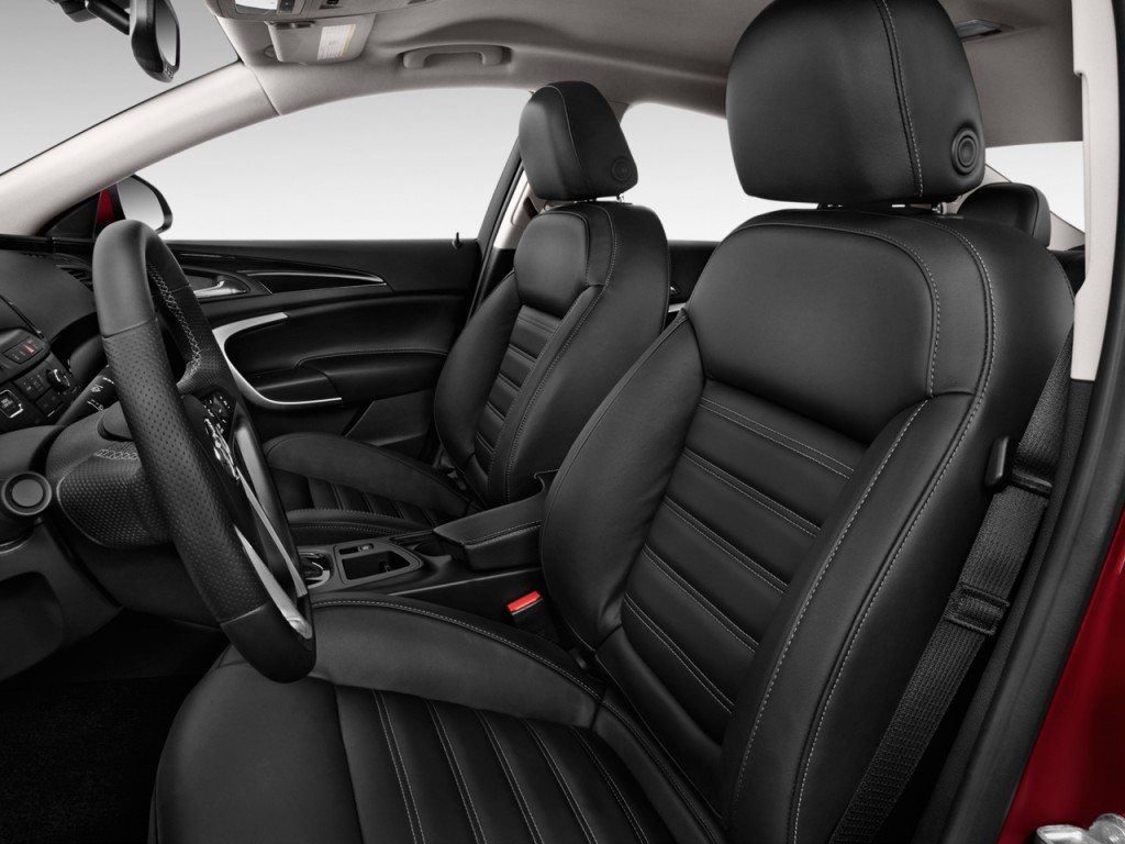 Image 2015 Buick Regal 4 Door Sedan Gs Fwd Front Seats
