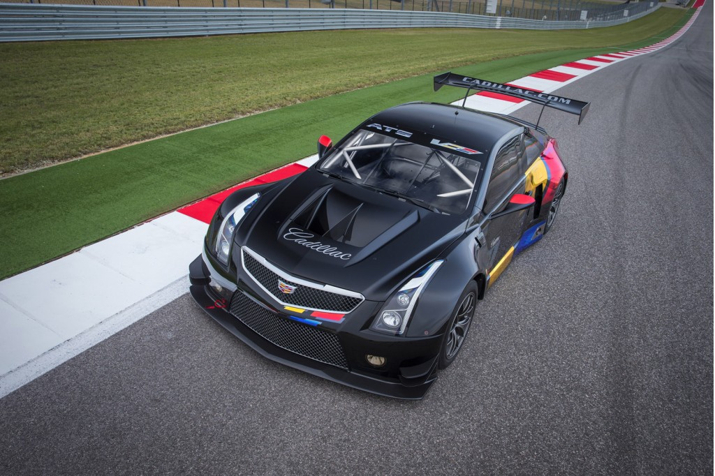 2016 Cadillac Ats V Coupe Spawns Gt3 Spec Race Car Video