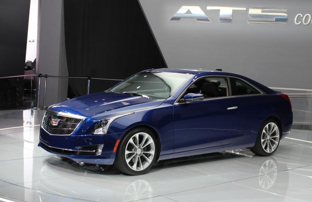 Image: 2015 Cadillac ATS Coupe - 2014 Detroit Auto Show live photos