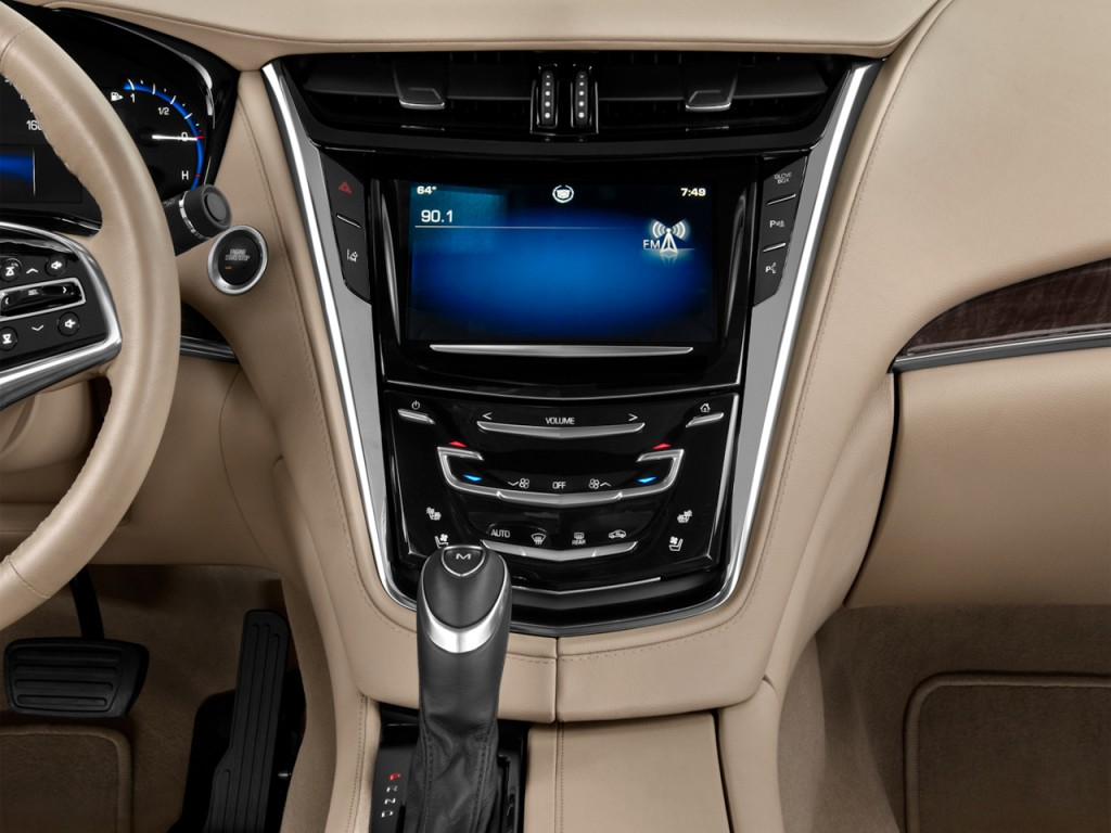 Image: 2015 Cadillac CTS 4-door Sedan 2.0L Turbo RWD ...