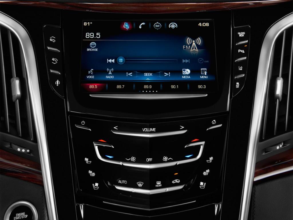Image 2015 Cadillac Escalade 4wd 4 Door Luxury Audio