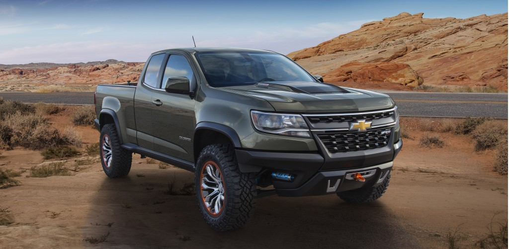 2016 Chevy Colorado Diesel Specs And Zr2 Off Road Concept From 2014