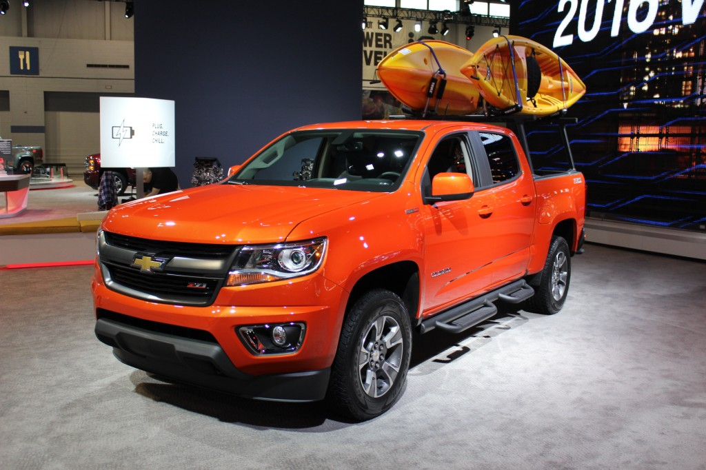 Image: 2015 Chevrolet Colorado GearOn Edition, 2015 Chicago Auto Show, size: 1024 x 682, type ...
