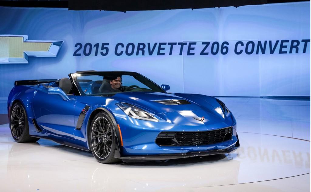2015 Chevrolet Corvette Z06 Convertible, 2014 New York Auto Show