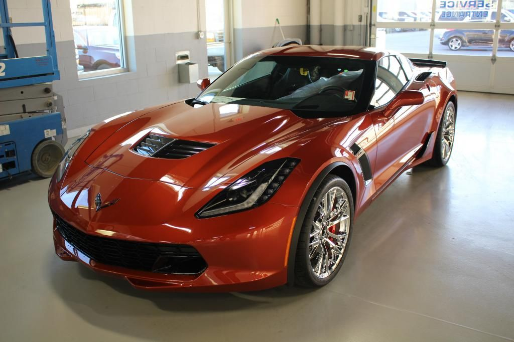 First 2015 Chevrolet Corvette Z06s Are Being Delivered