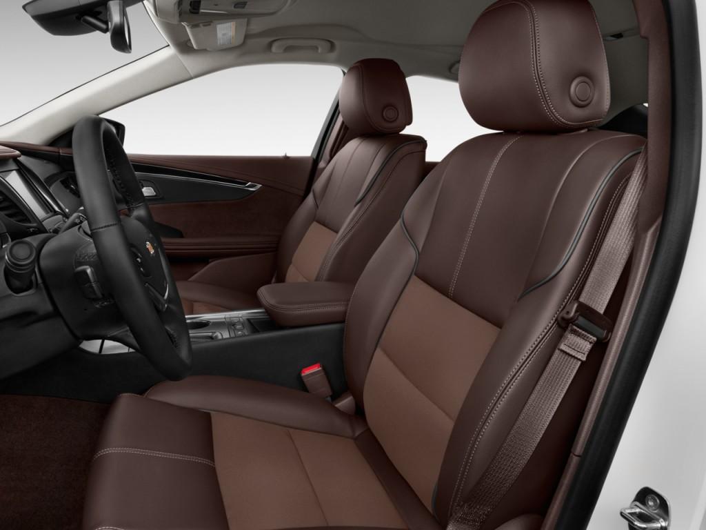 Image 2015 Chevrolet Impala 4 Door Sedan Lt W 2lt Front
